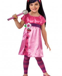 Girls Deluxe Cherry Jam Costume
