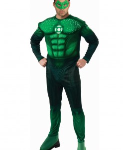 Adult Light Up Green Lantern Costume