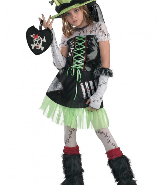 Girls Monster Bride Costume