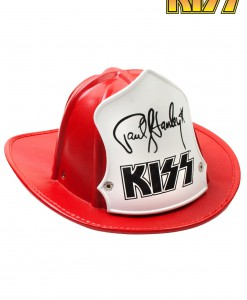 Paul Stanley Red Firehouse Fire Hat