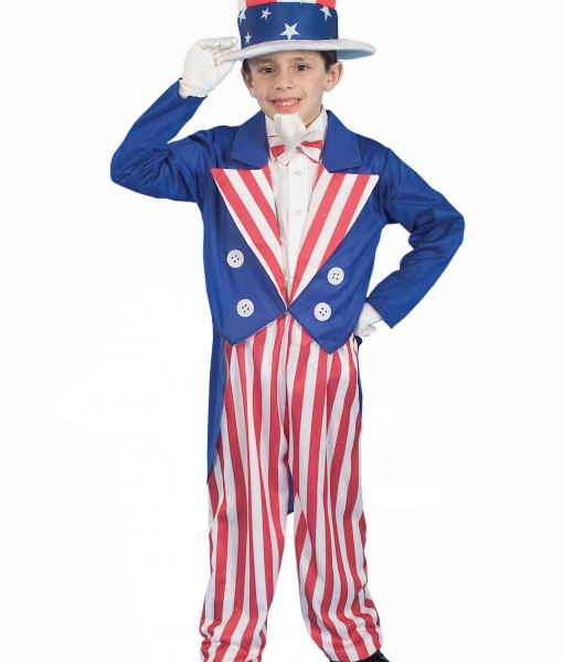 Child Uncle Sam Costume