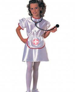 Girls Little Miss Nurse Costume