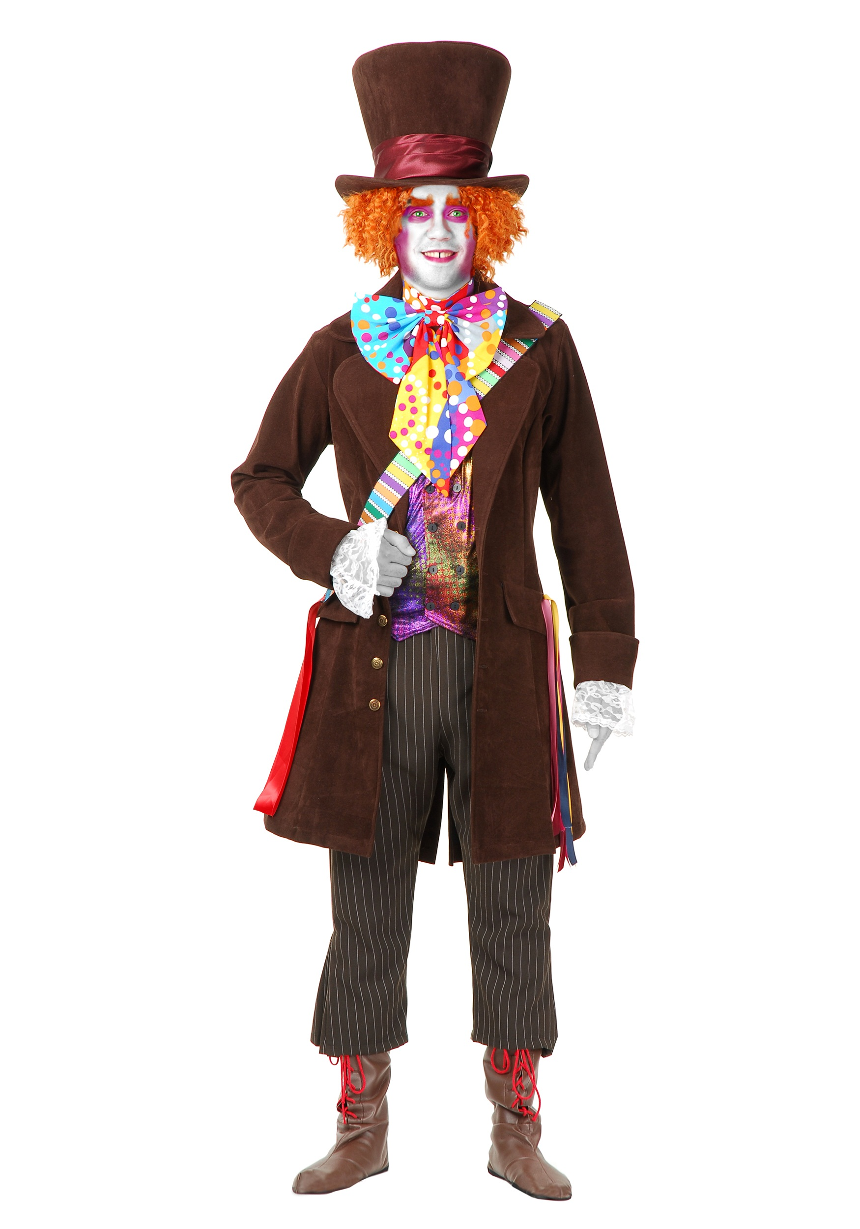 Menu0027s Deluxe Mad Hatter Costume  sc 1 st  Halloween Costumes & Menu0027s Deluxe Mad Hatter Costume - Halloween Costume Ideas 2018
