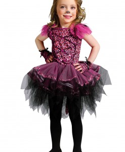 Toddler Ballerina Leopard Costume
