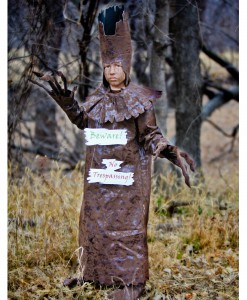Child Scary Tree Costume