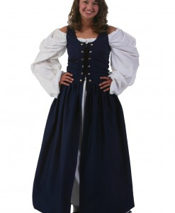 Navy Irish Renaissance Dress