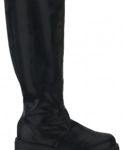 Adult Deluxe Black Boots