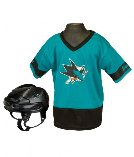 NHL San Jose Sharks Kid's Uniform Set
