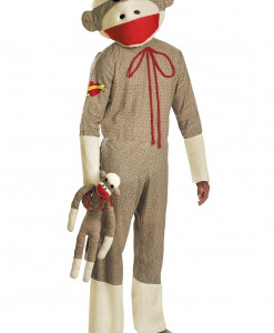 Adult Sock Monkey Costume