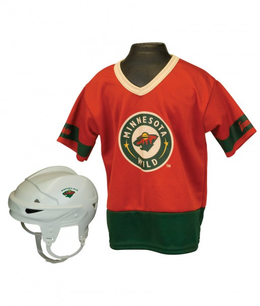 NHL Minnesota Wild Kid's Uniform Set