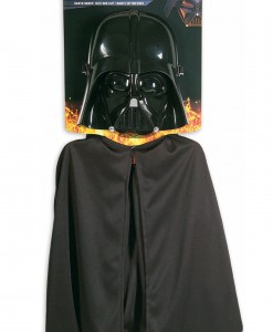 Kids Darth Vader Mask and Cape