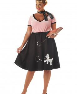 Plus Size 50s Sweetheart Costume