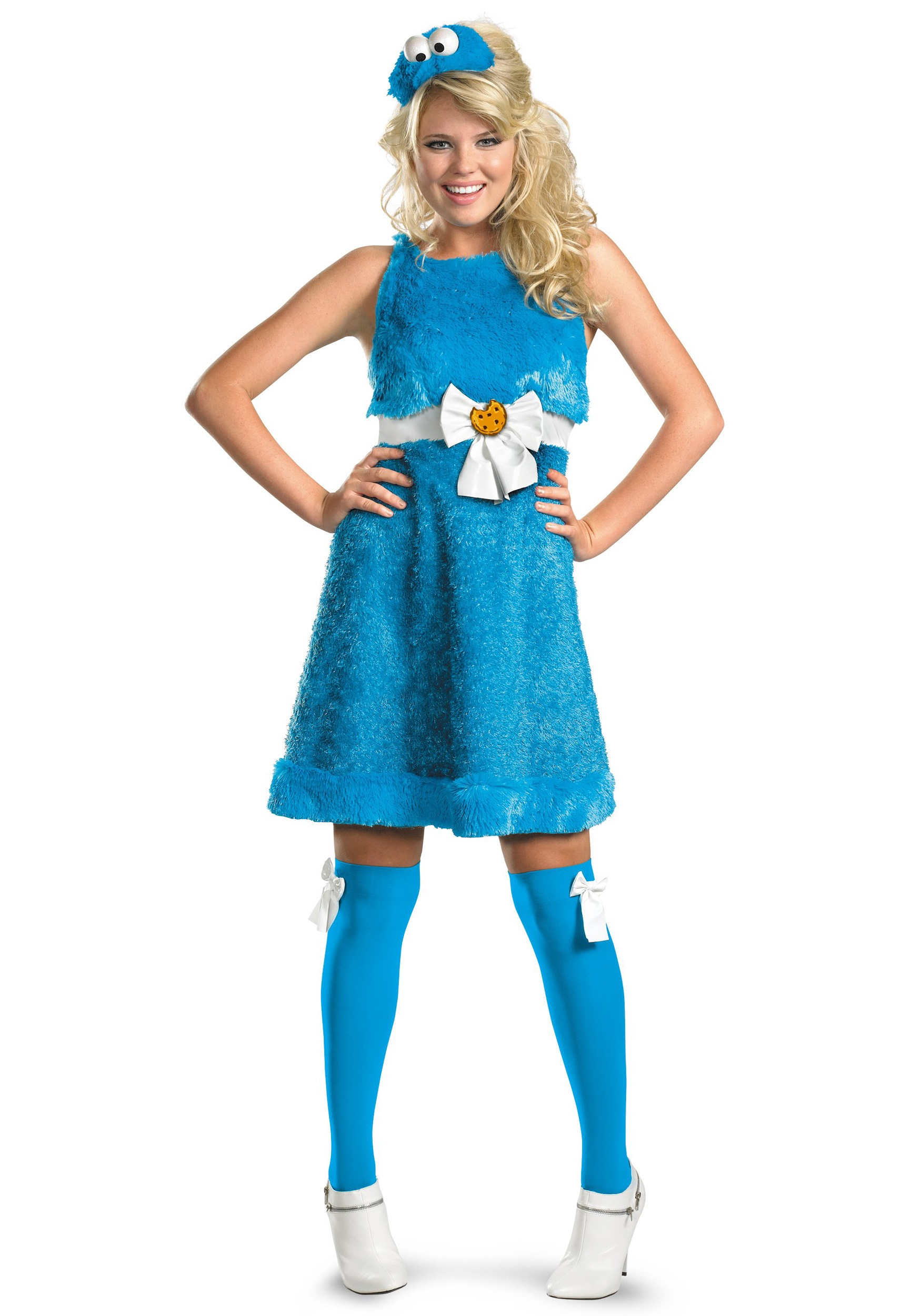 Sassy Cookie Monster Costume  sc 1 st  Halloween Costumes : blue halloween costume ideas  - Germanpascual.Com