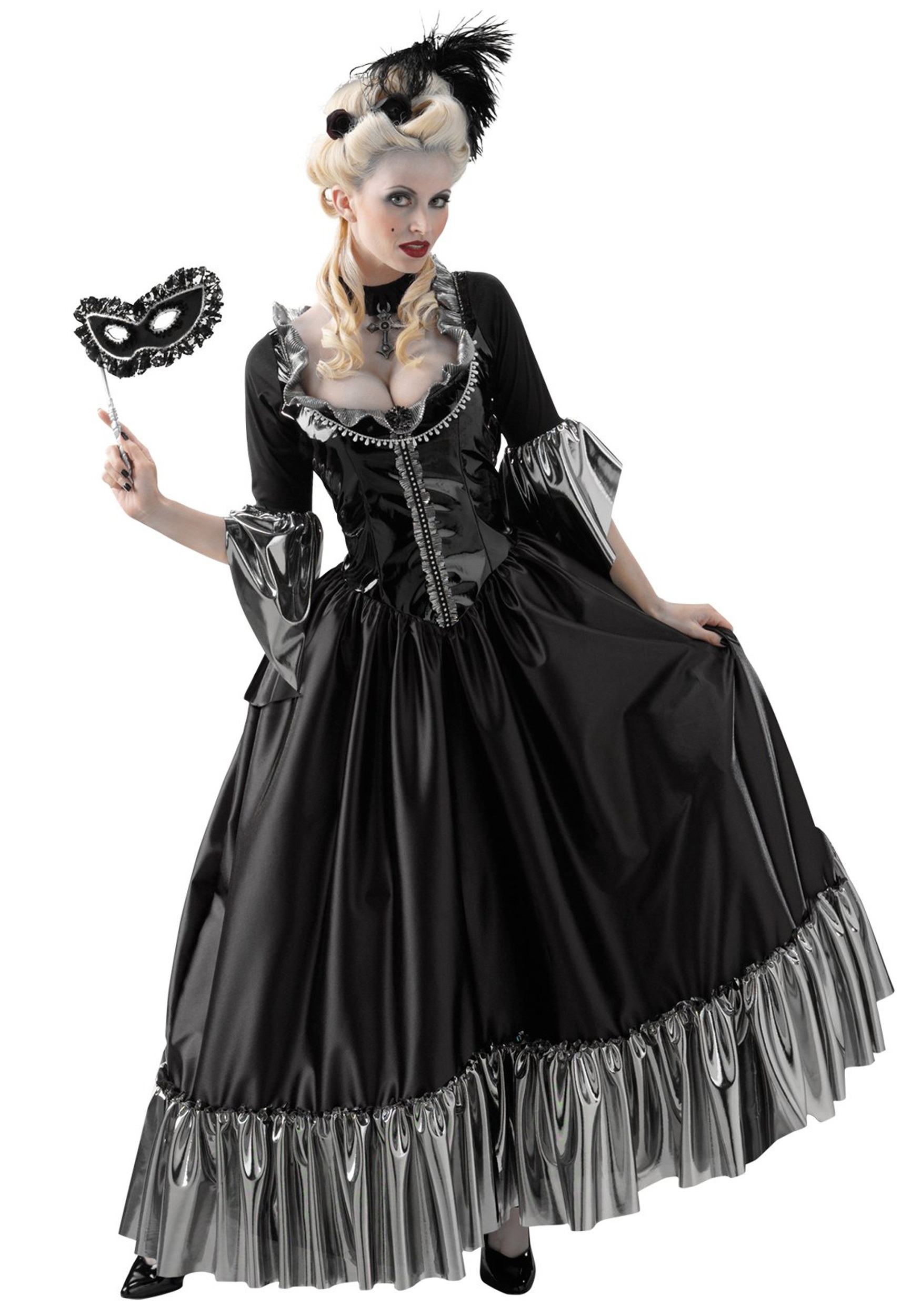 Masquerade Ball Costume  sc 1 st  Halloween Costumes : victorian clown costume  - Germanpascual.Com