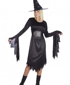 Women's Tattered Witch Costume