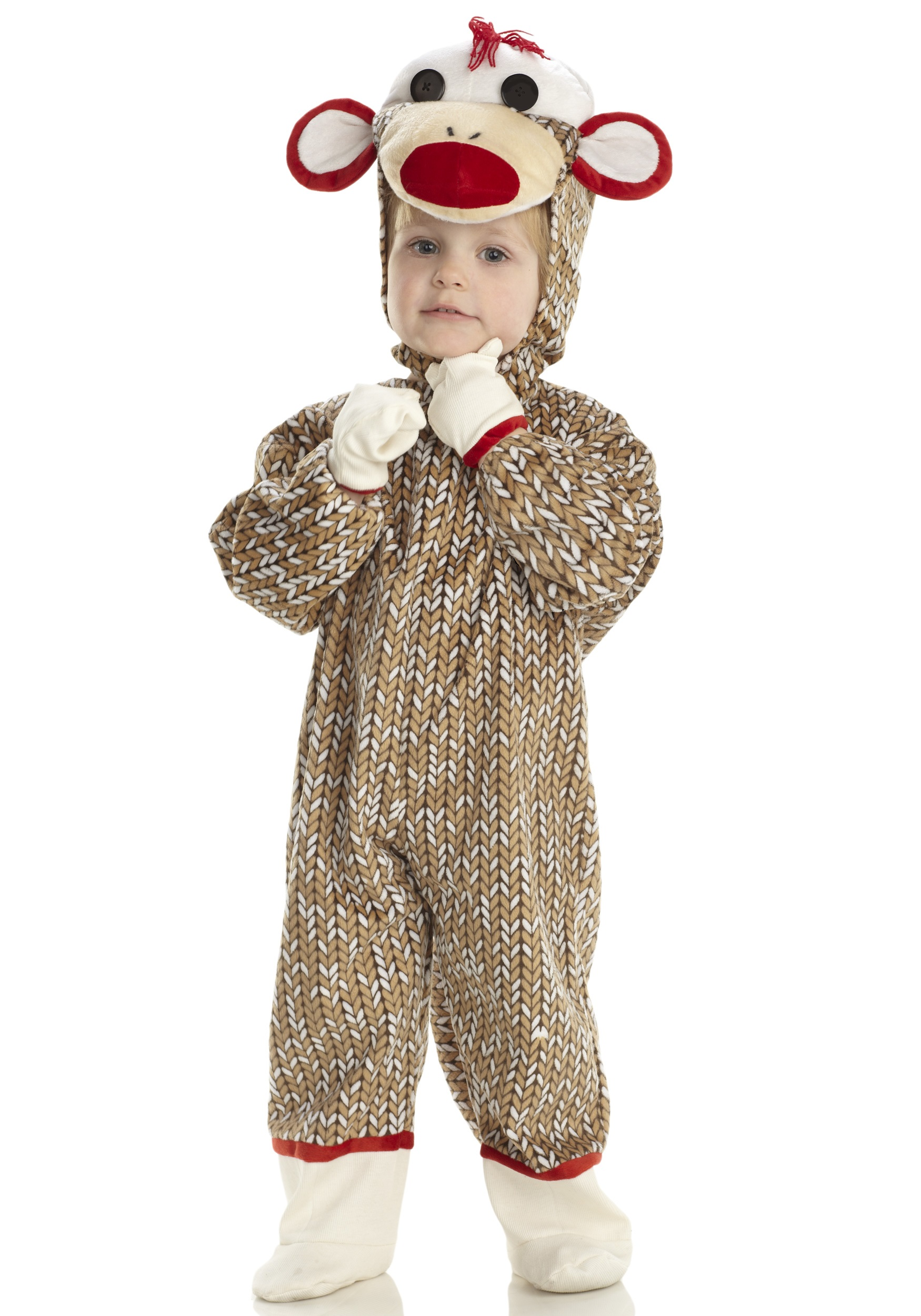 toddler sock monkey costume - halloween costume ideas 2018