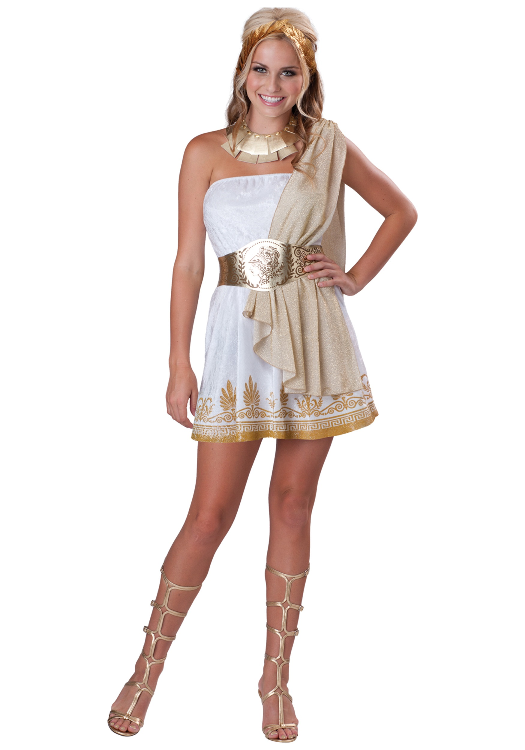 teen glitzy goddess costume - halloween costume ideas 2018