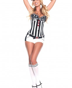 Sexy Love Referee Costume