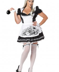 Plus Size Dark Alice Costume