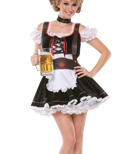 Plus Size Sexy Beer Maiden Costume