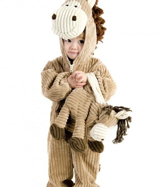 Toddler Corduroy Horse Costume