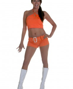 Orange Soda Girl Costume