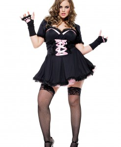 Plus Size Sexy Cat Costume