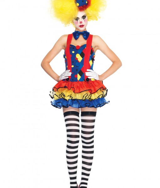 Sexy Giggle Clown Costume
