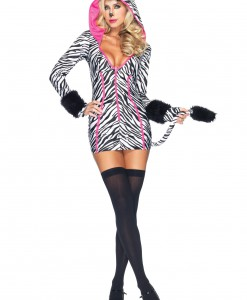 Sexy Savanna Zebra Costume