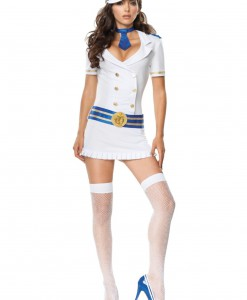 Captivating Captain Sailor Costume