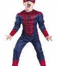Toddler Spider-Man Movie Muscle Costume