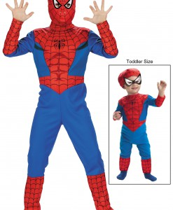 Boys Spider Man Costume