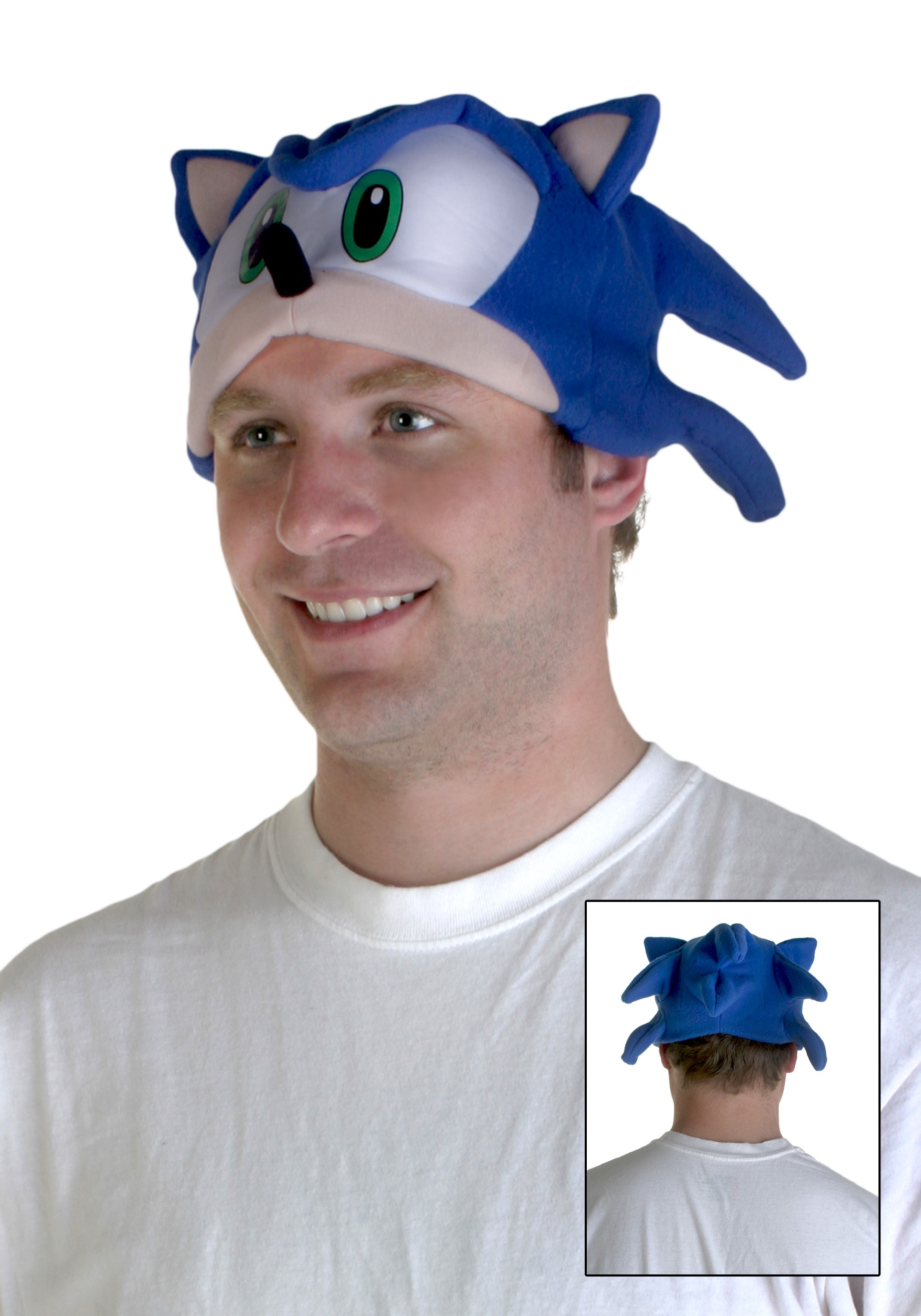 Sonic the Hedgehog Fleece Cap  sc 1 st  Halloween Costumes & Sonic the Hedgehog Fleece Cap - Halloween Costume Ideas 2016