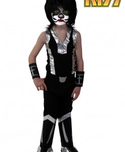 Kids Screenprint KISS Catman Costume