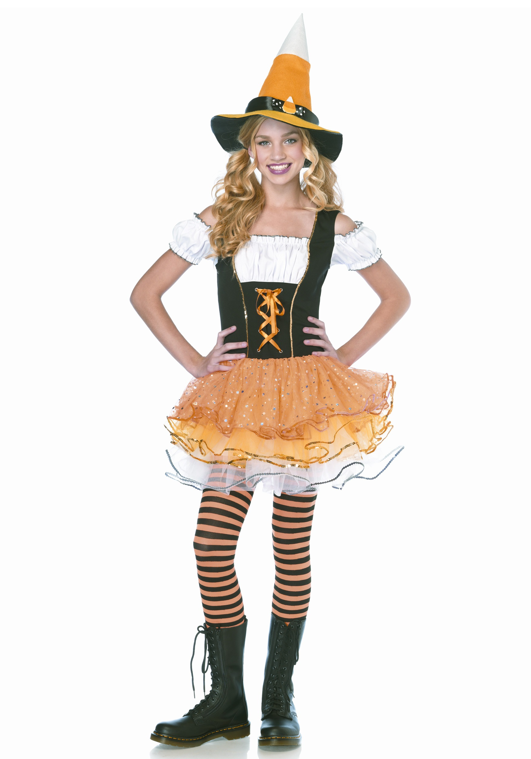 Teen Sparkle Candy Witch Costume - Halloween Costume Ideas 2016