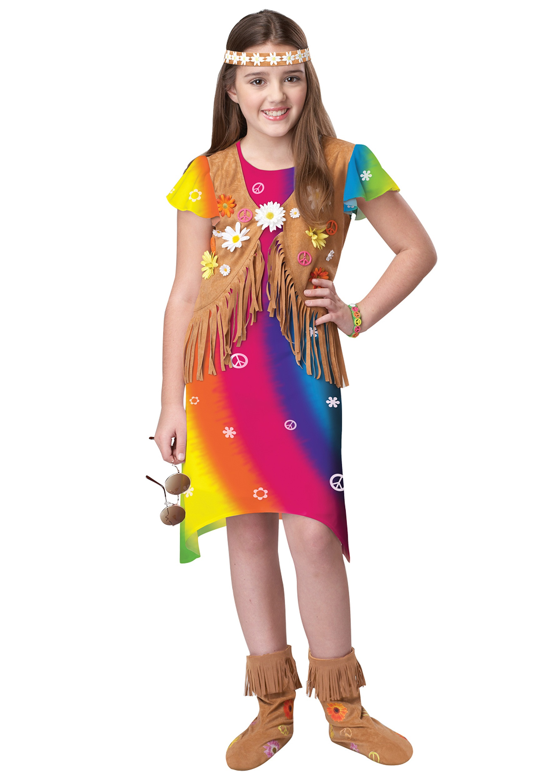 70s Flower Child Costume - Halloween Costume Ideas 2018