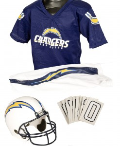 NFL Chargers Uniform Costume
