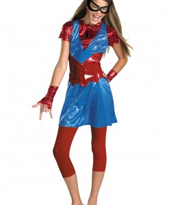 Tween Spider Girl Costume