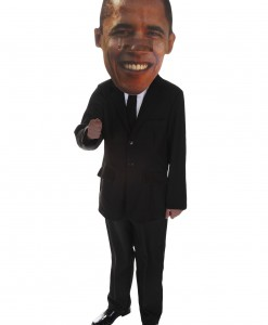 Big Head Mask Obama