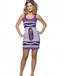 Sexy Wisteria Crayon Dress