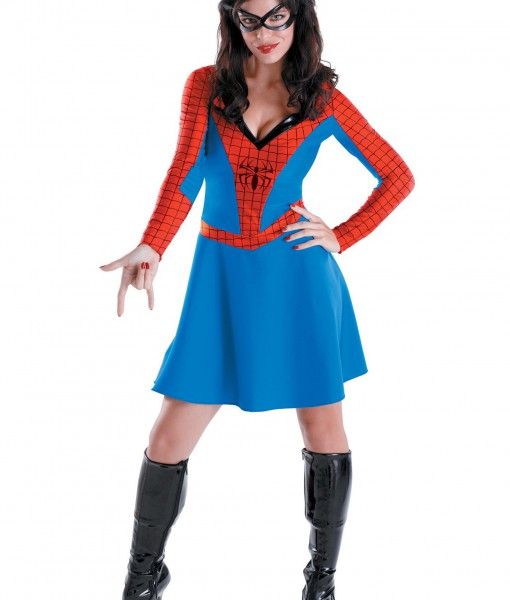 Womens Spider Girl Costume