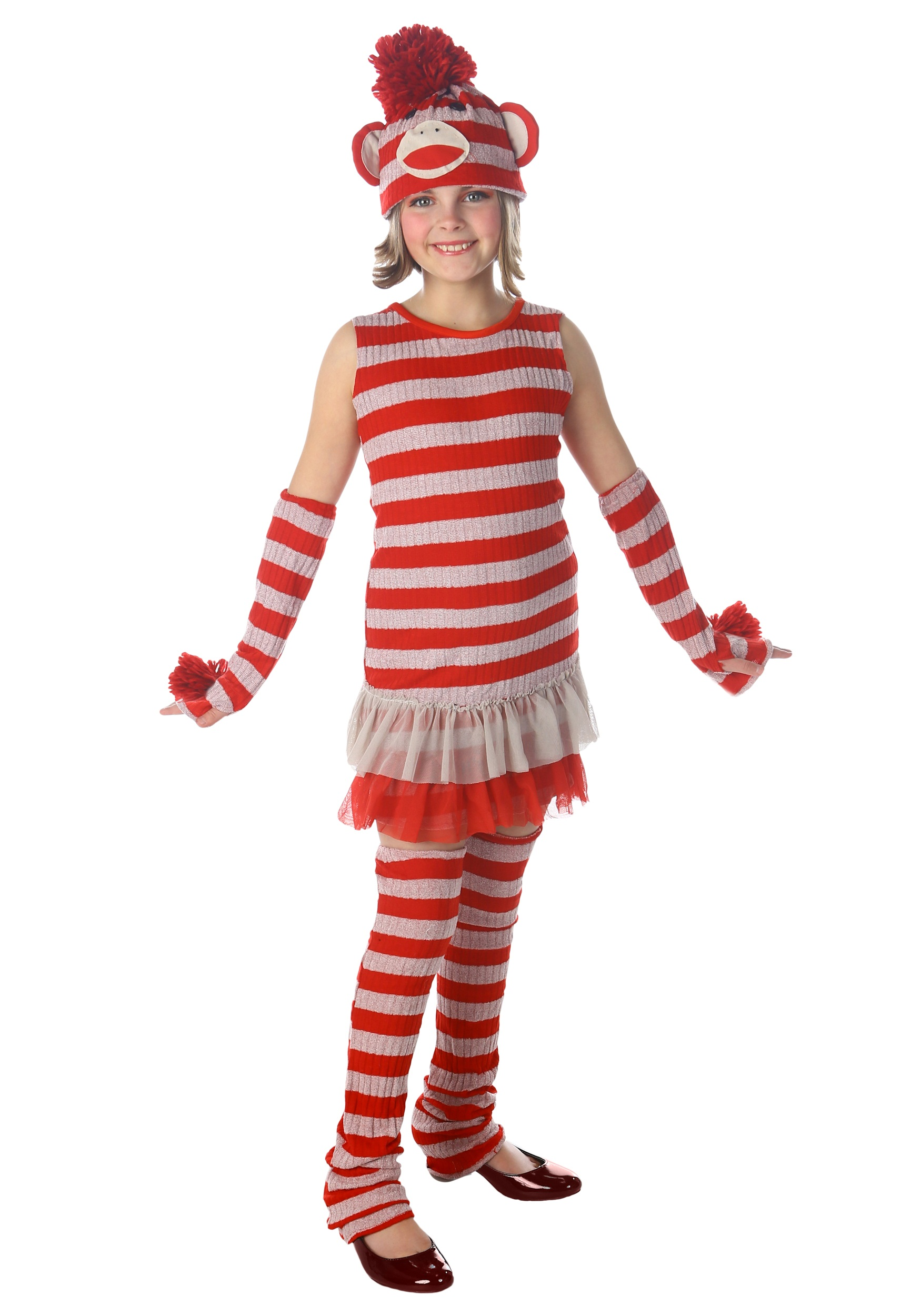 30f316b602e Tween Sock Monkey Costume