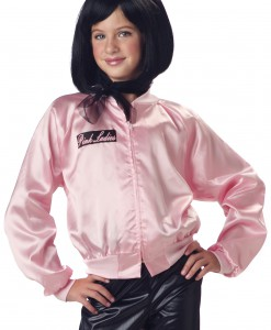 Girls Grease Pink Ladies Jacket