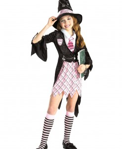 Girls Charm School Witch Costume