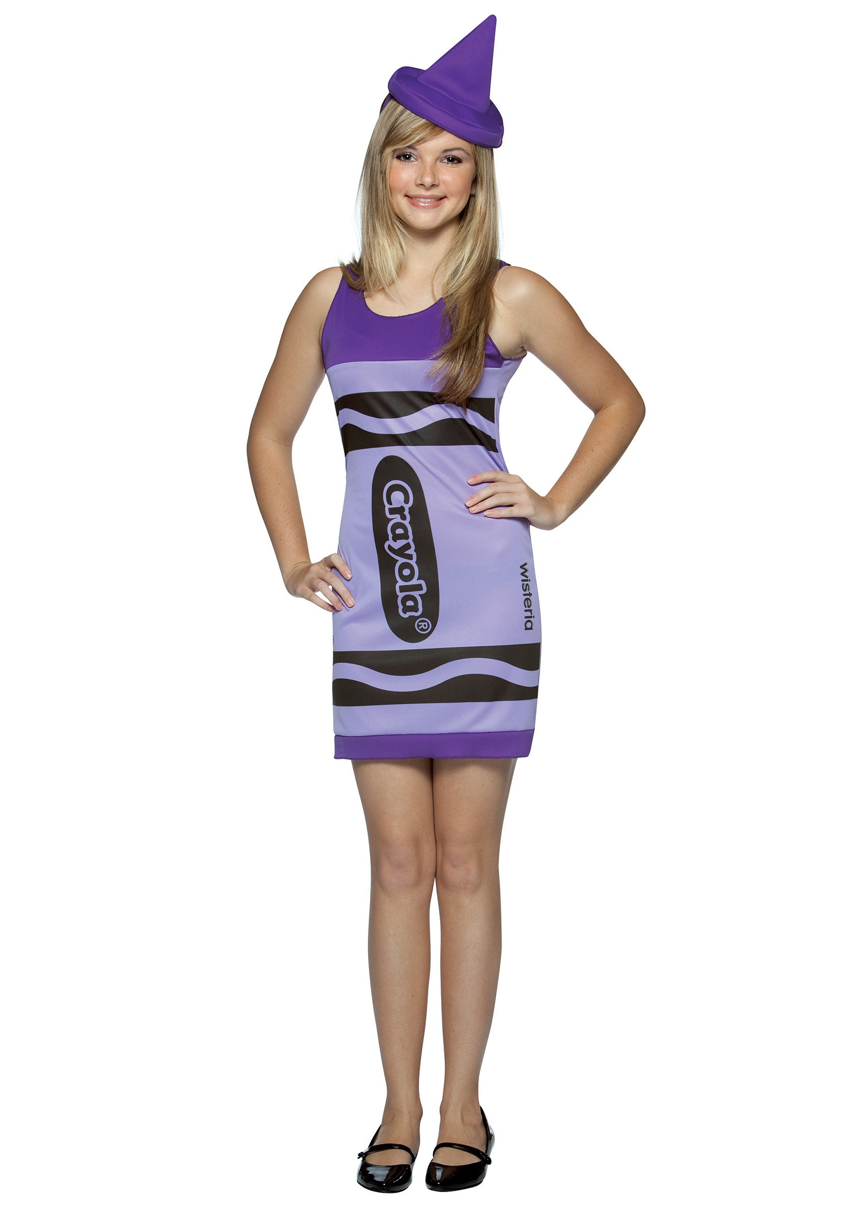 teen wisteria crayon dress - halloween costume ideas 2018