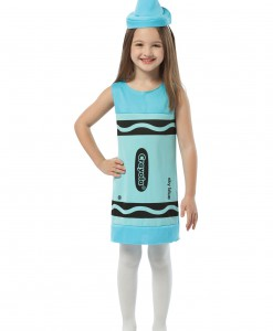 Child Sky Blue Crayon Dress