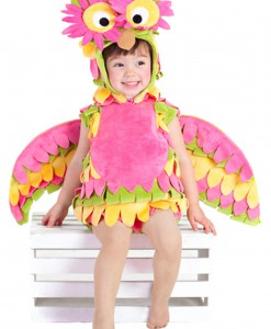 Little Colorful Owl Costume