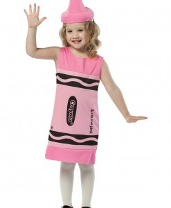 Child Tickle Me Pink Crayon Dress