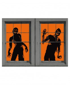 Ghoulies Zombie Window Cling