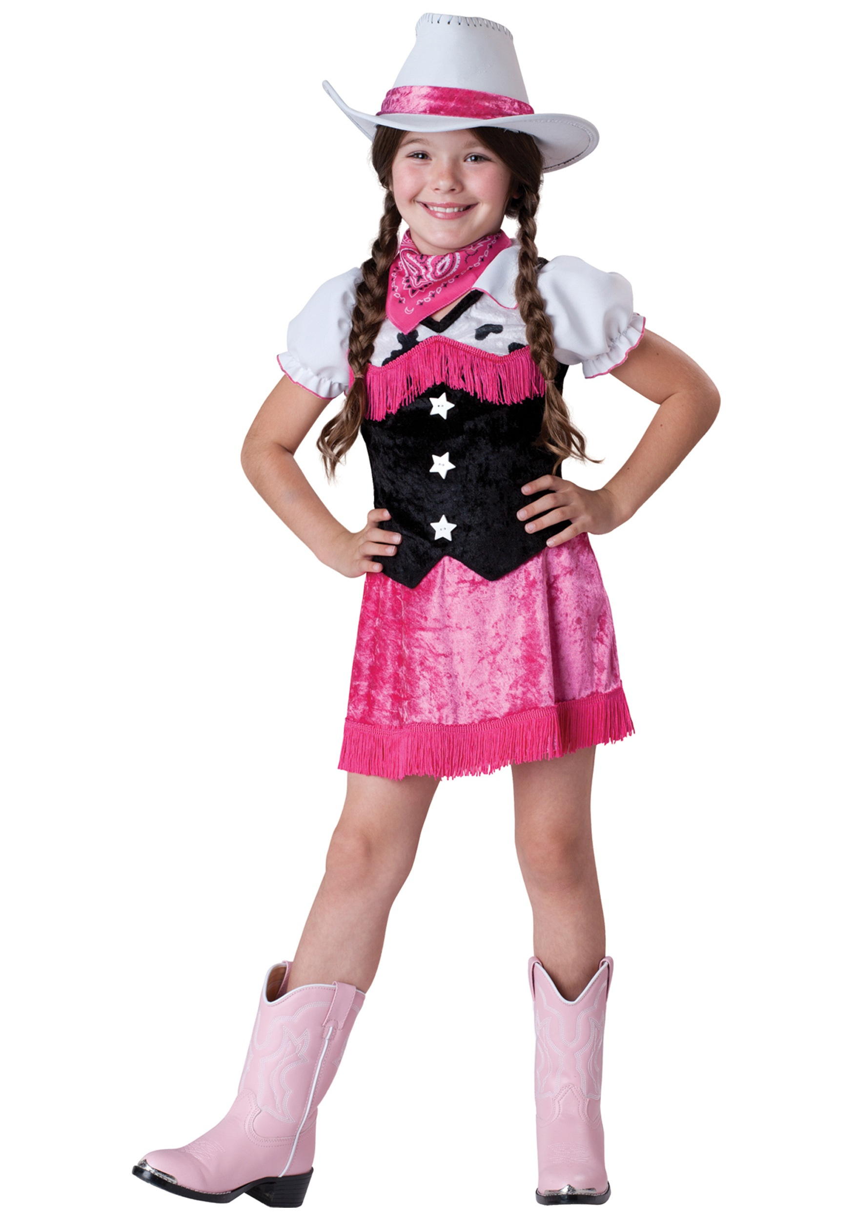 girls cowgirl cutie costume - halloween costume ideas 2018